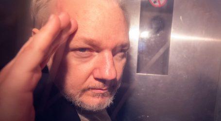 Assangeu 50 tjedana zatvora zbog kršenja jamčevine