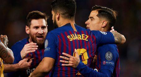 LIGA PRVAKA Barca uvjerljiva protiv Liverpoola, dva gola Messija