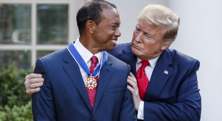 Trump odlikovao Woodsa Predsjedničkim odličjem slobode