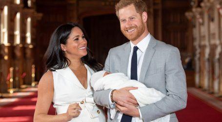 Princ Harry i supruga Meghan nazvali sina Archie