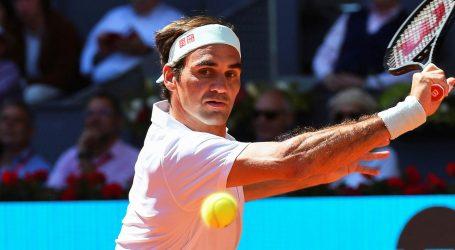 Federer izbacio Ćorića pa odustao zbog ozljede