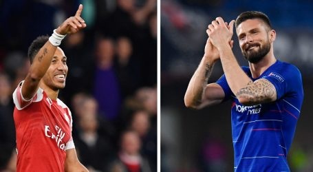 Arsenal i Chelsea u borbi za europski trofej