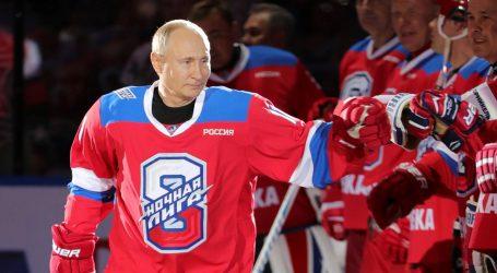 Putin zabio osam golova u hokejaškoj utakmici
