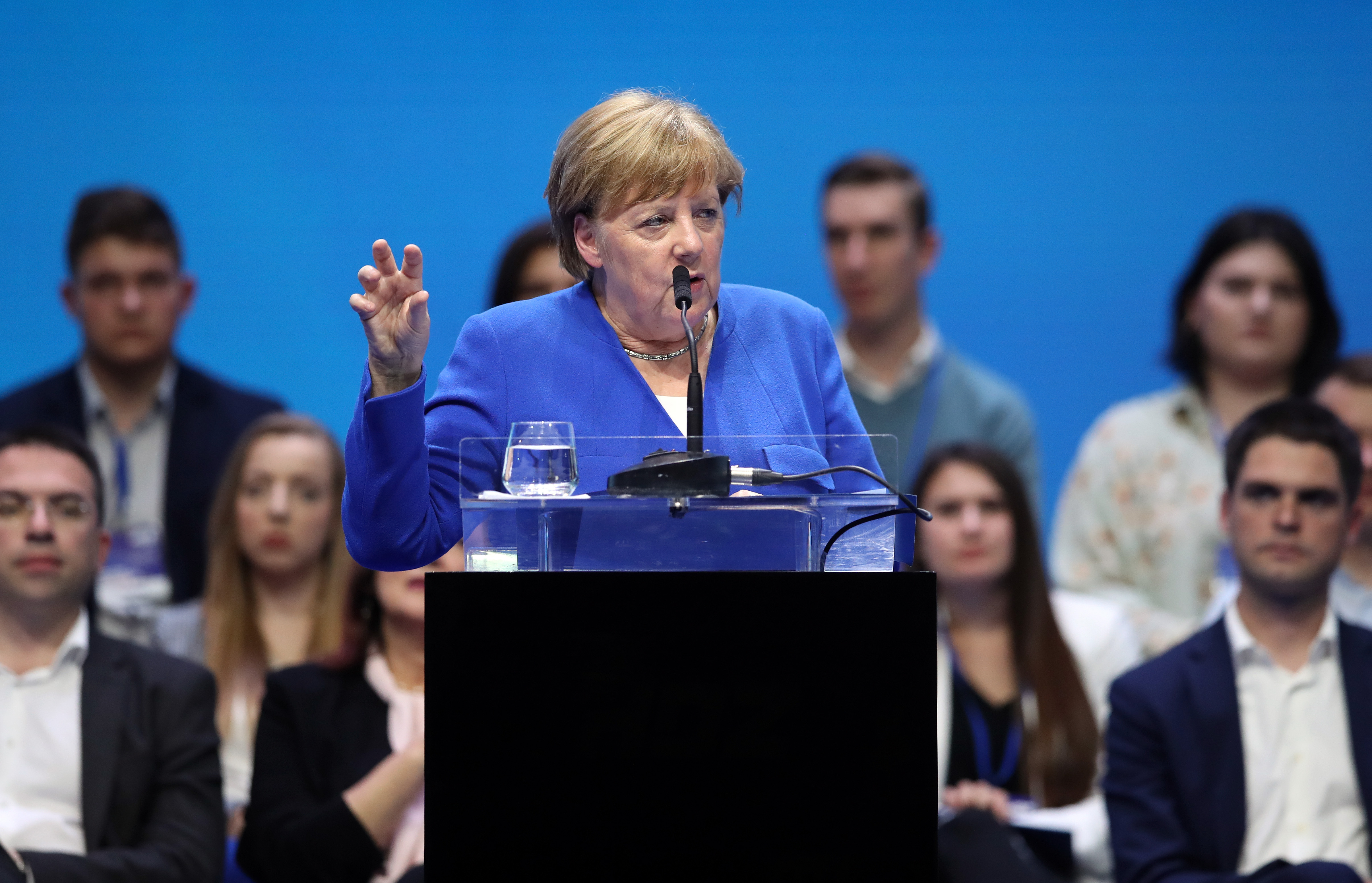 MERKEL NA SKUPU HDZ-A 'Nacionalizam je neprijatelj Europe'
