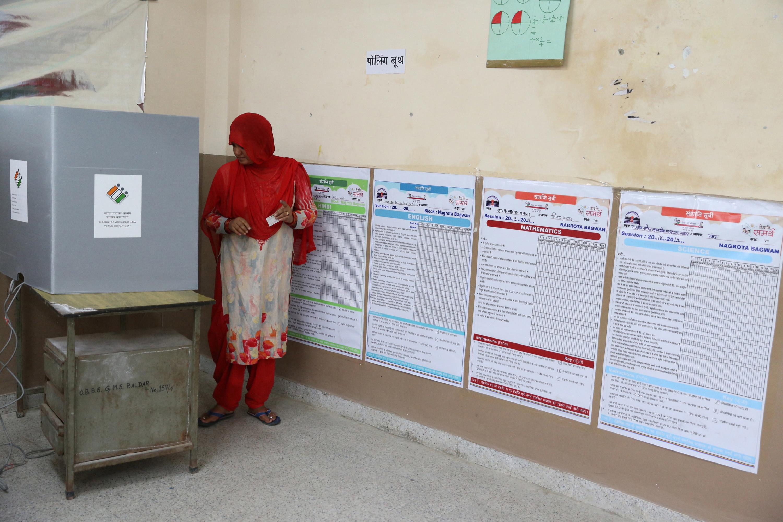 U Indiji zatvaranje svih birališta označilo kraj šestotjednih parlamentarnih izbora