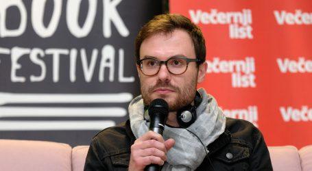 "ZBF: Predstavljen roman ""Zamor materijala"" Mareka Šindelke"