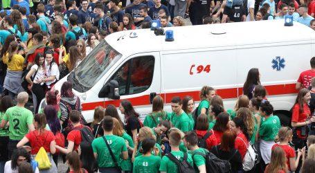 """Zagrebačka """"norijada"""": Privedeno 14 maturanata, 15 intervencija Hitne pomoći"""