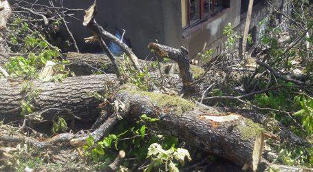 Milijuni gubitaka zbog olujnog nevremena na Medvednici