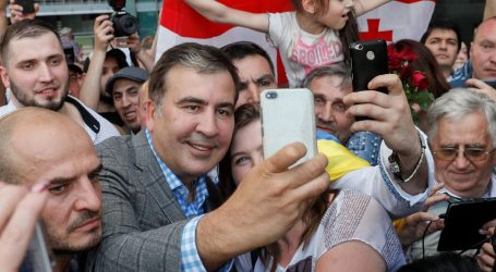 Bivši gruzijski predsjednik Saakašvili vratio se u Ukrajinu