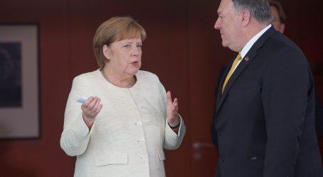 """POMPEO: """"SAD i Njemačka još uvijek udaljeni po važnim pitanjima"""""""