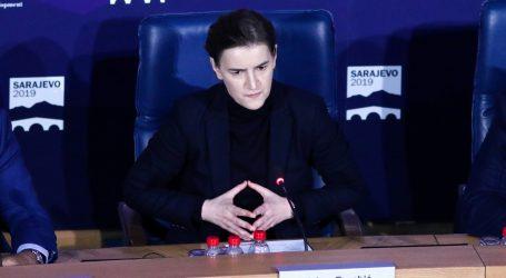 Pacoli poručio Brnabić da je nepoželjna na Kosovu