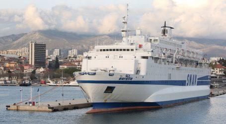 POČELO TEGLJENJE Put Aurelije do Splita 12 sati