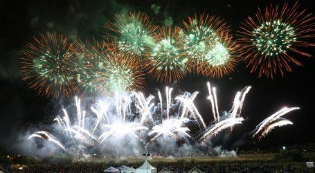 ZAGREB: Na Međunarodnom festivalu vatrometa projektili velikog kalibra