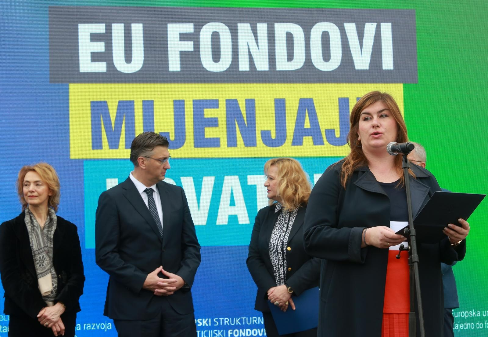 ŽALAC 'Hrvatska je 14,4 milijarde kuna u plusu u korištenju europskih fondova'