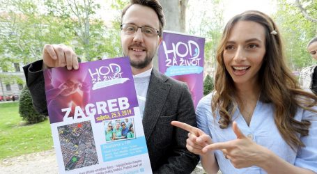 U subotu četvrti Hod za život u Zagrebu, nastupa Thompson