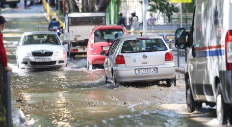 Zbog puknuća cijevi poplavljeno središte Splita