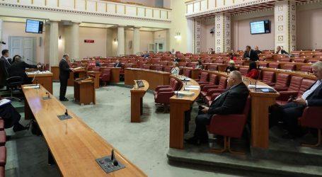 Sabor raspravlja o tri Vladina i dva oporbena prijedloga