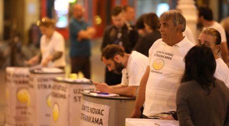 Živi zid: Imamo dovoljno potpisa za raspisivanje referenduma o financiranju stranaka