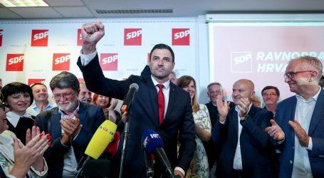 """FOTO: REAKCIJE IZ SDP-A """"Ovo je uspjeh ujedinjene stranke"""""""