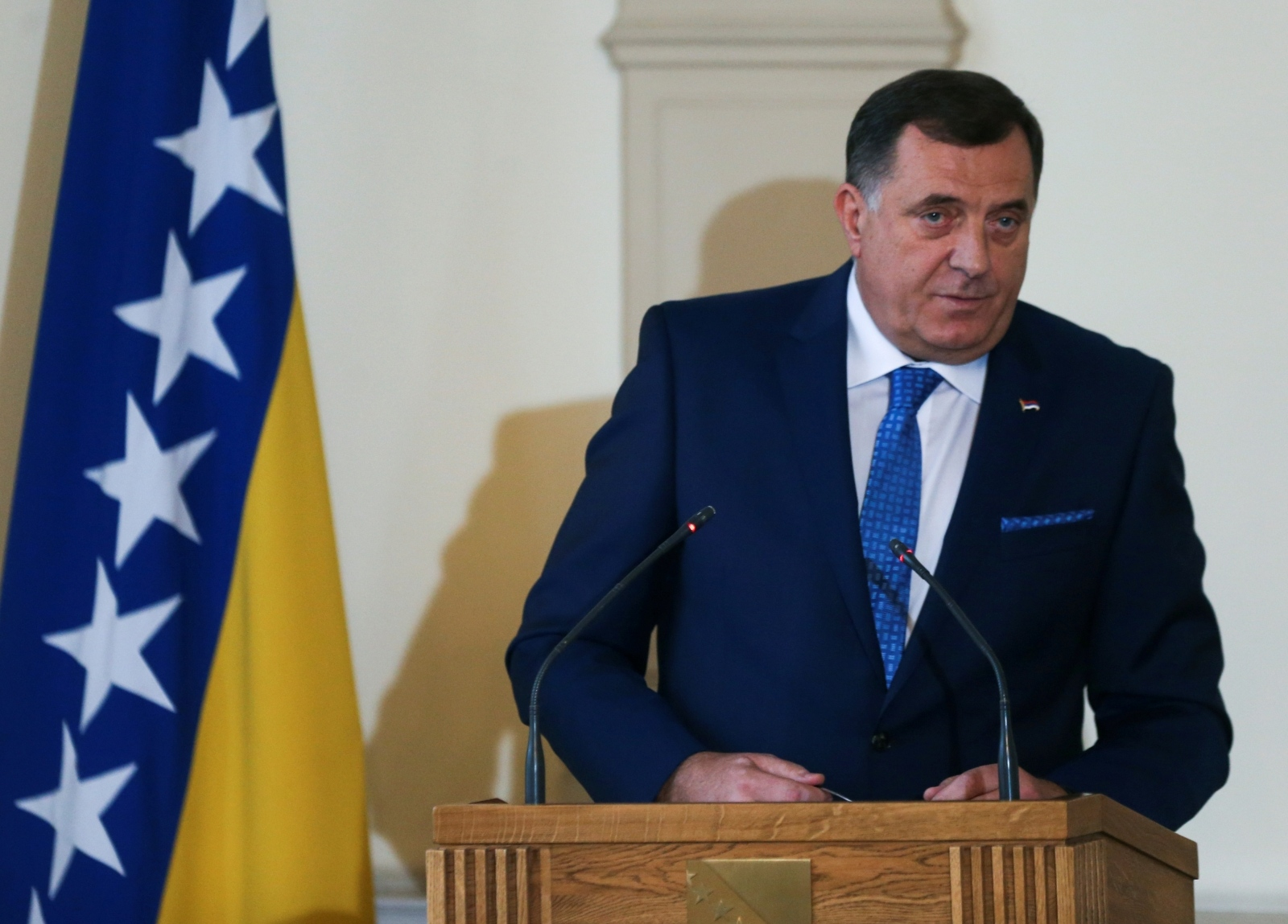 """Dodik se """"zavjetovao"""" da neće dopustiti ulazak BiH u NATO"""