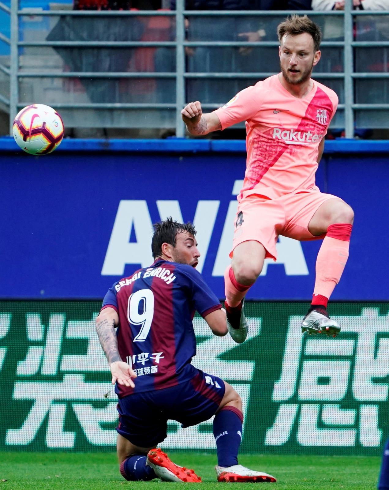 Eibar – Barcelona 2-2, asistencija Rakitića