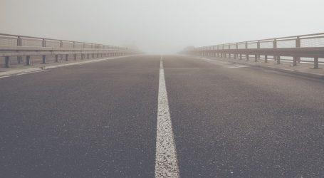 Magla mjestimice smanjuje vidljivost