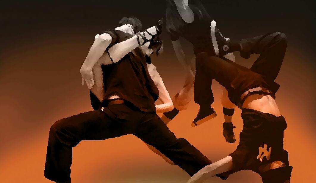 Izlazi s 4 plesača