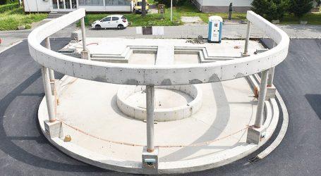 """Načelnik Konjščine novcem iz EU gradi fontanu u obliku slova """"U"""""""
