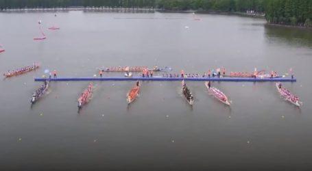 VIDEO: Veselo obilježen tradicionalan Dragon Boat Festival