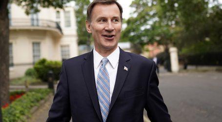 UIazak u finale za britanskog premijera izborili Johnson i Hunt