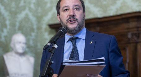 SALVINI 'Granicu sa Slovenijom zatvorit ćemo žičanom ogradom'