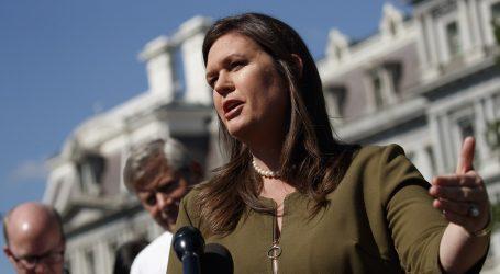 Sarah Sanders odlazi s mjesta glasnogovornice Bijele kuće
