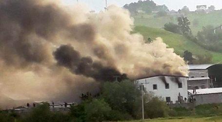 Požar u migrantskom centru u Velikoj Kladuši, deseci ozlijeđenih