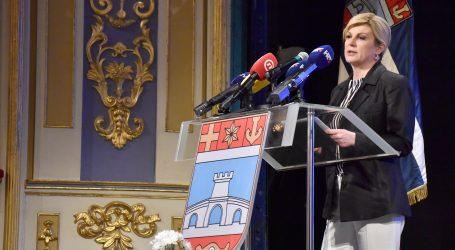 Predsjednica ne želi komentirati unutarstranačke sukobe u HDZ-u