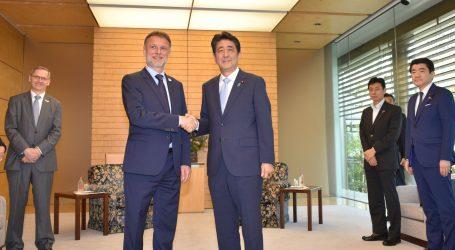 Jandroković u Japanu, susreo se s premijerom Shinzom Abeom