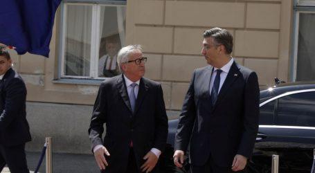 Predsjednik EK-a na odlasku želi Hrvatsku u šengenskoj i eurozoni