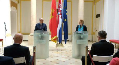 """""""Hrvatska i Crna Gora će otvorena pitanja rješavati dijalogom"""""""