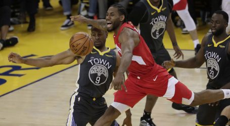 NBA FINALE: Toronto na korak do naslova
