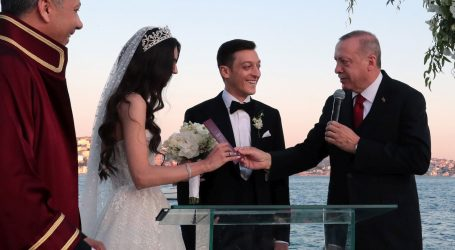 Erdogan kum na vjenčanju Mesuta Özila