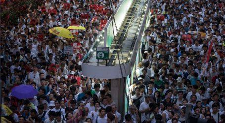 HONG KONG Milijun prosvjednika protiv zakona o izručenju