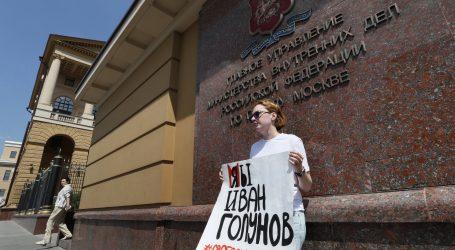 Ruski novinar Golunov, slobodan i u suzama, zahvalio na potpori