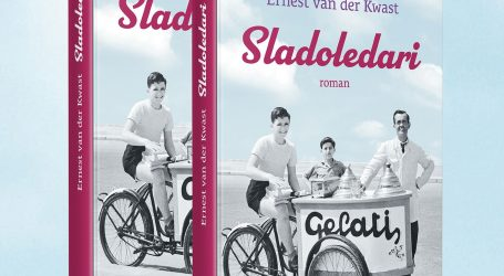 "Ernest van der Kwast predstavio roman ""Sladoledari"""