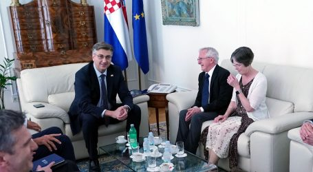 Plenković s dobitnikom Nobelove nagrade dr. Paulom Modrichem