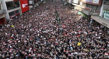 HONG KONG Novi masovni prosvjedi, čelnica izvršne vlasti se ispričala