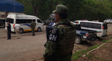 Meksička Nacionalna garda čuva granicu s SAD-om
