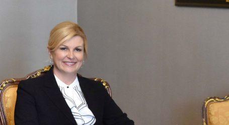 Grabar-Kitarović se susrela s predsjednicima estonske vlade i parlamenta