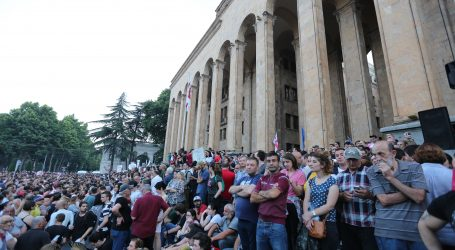 GRUZIJA Manji odaziv na prosvjedima protiv ministra zbog policijske akcije