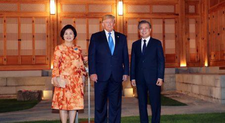 Trump stigao u Seul, pozvao Kima da se susretnu u demilitariziranoj zoni