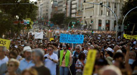 Madrižani prosvjedovali protiv automobila u središtu grada