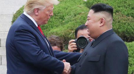Donald Trump prvi je američki predsjednik koji je kročio na tlo Sjeverne Koreje